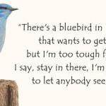 ave en dias azules