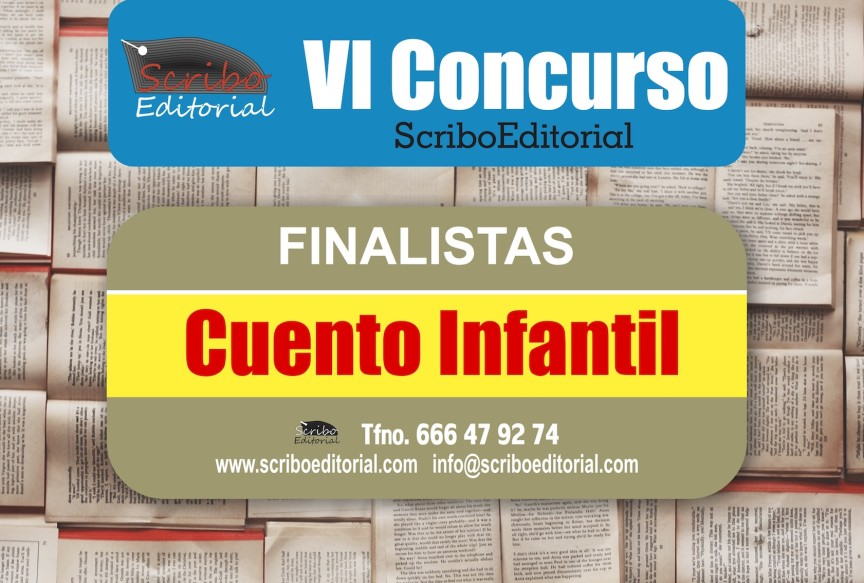 cartel finalistas-cuento infantil- sexto concurso